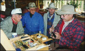 Fly tying masters clinic